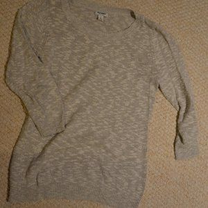 Old Navy heather grey knit sweater